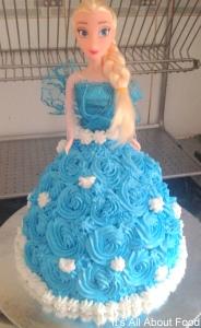 Elsa & Anna Cake8