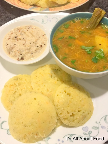 Idli Sambhar1New