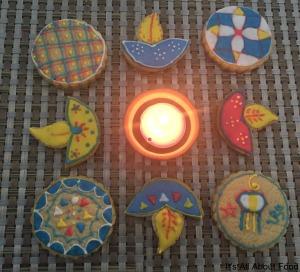 Diya Cookies11