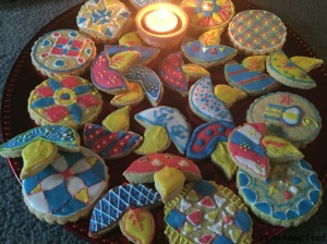 Diya Cookies7
