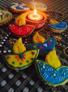 Diya Cookies9