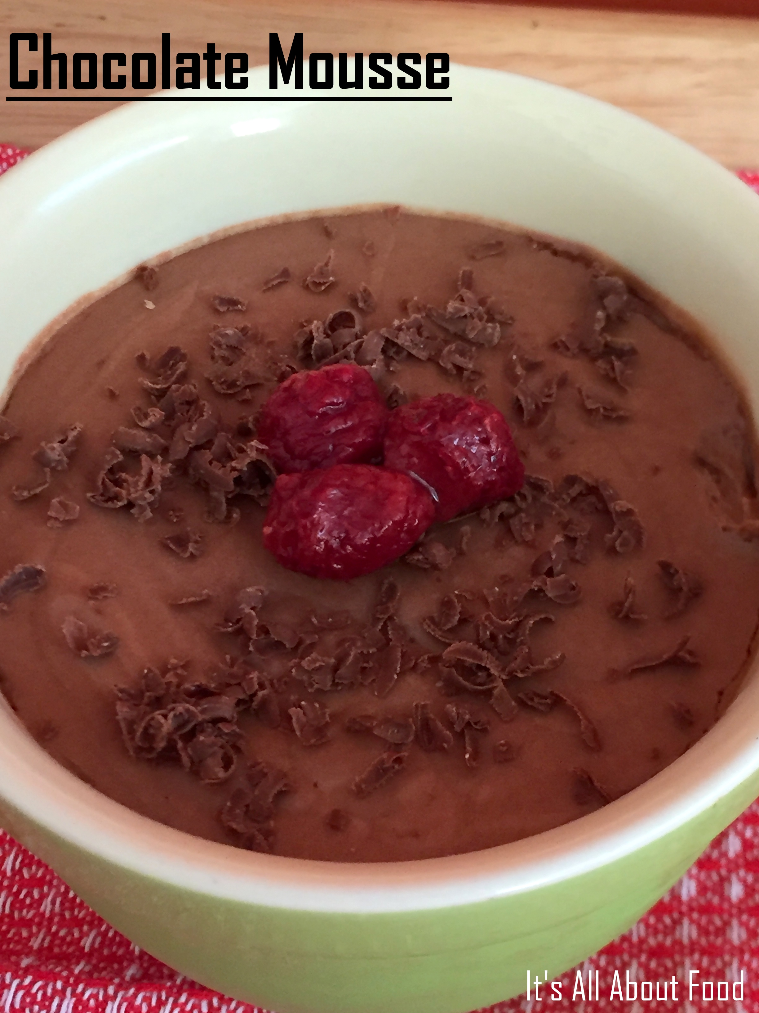 Chocolate Mousse7