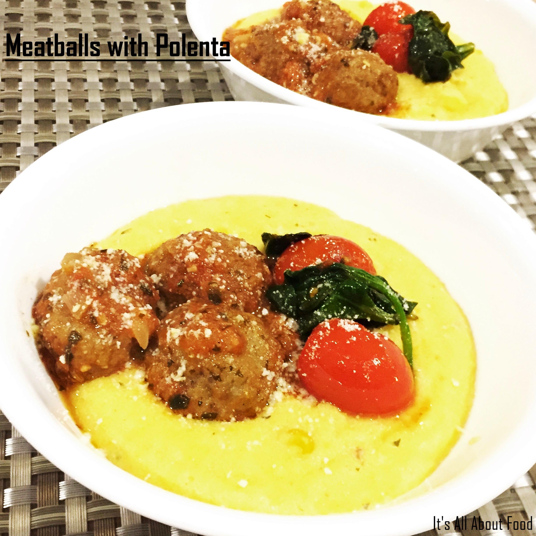 Meatballs Polenta6